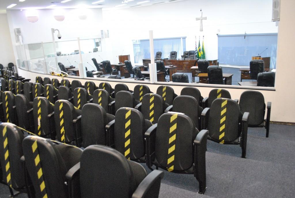Cidades - Câmara de SB retoma hoje sessões  presenciais, mas sem público