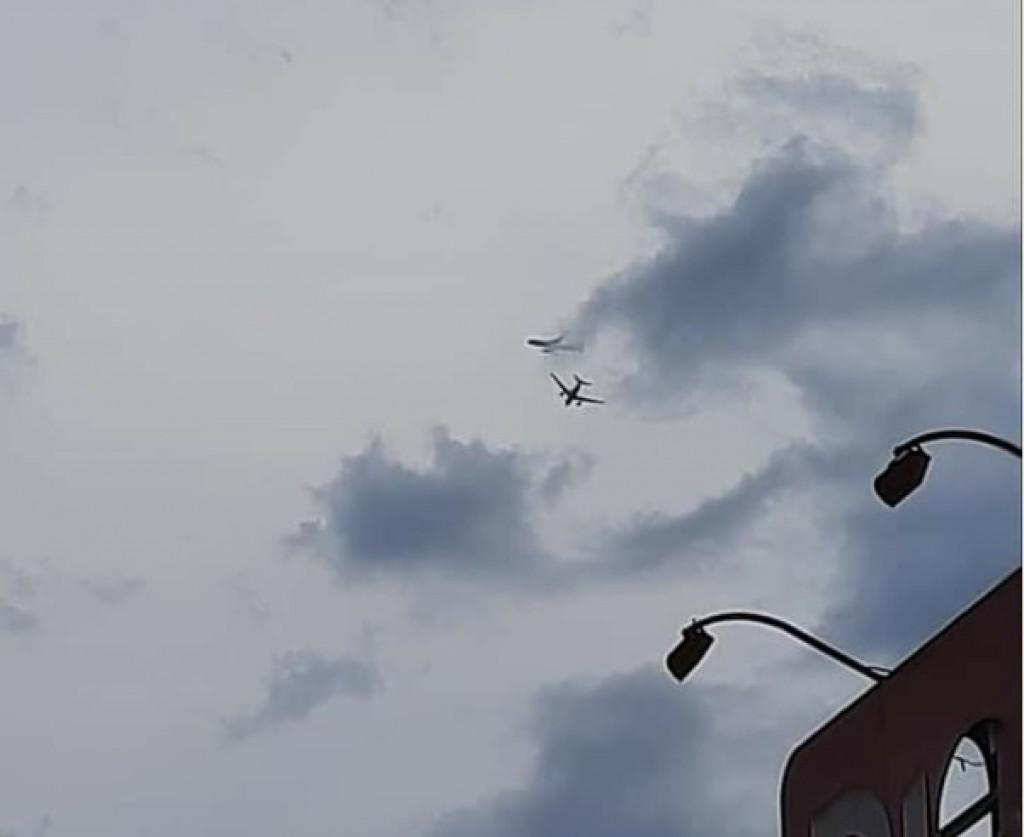 Cidades - Aviões assustam em SB