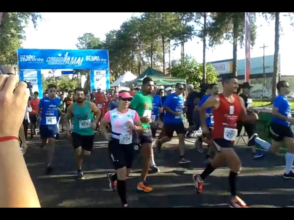Cidades - Corrida da Amai reúne 600 participantes.