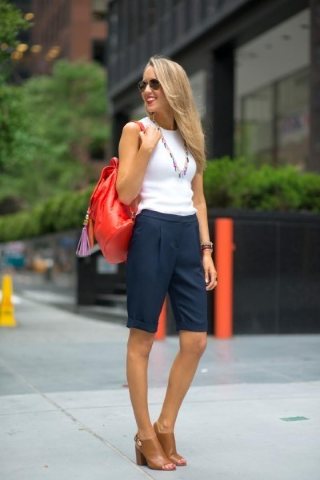 Caderno Mulher - Como usar shorts no ambiente de trabalho e se livrear do calor do verão