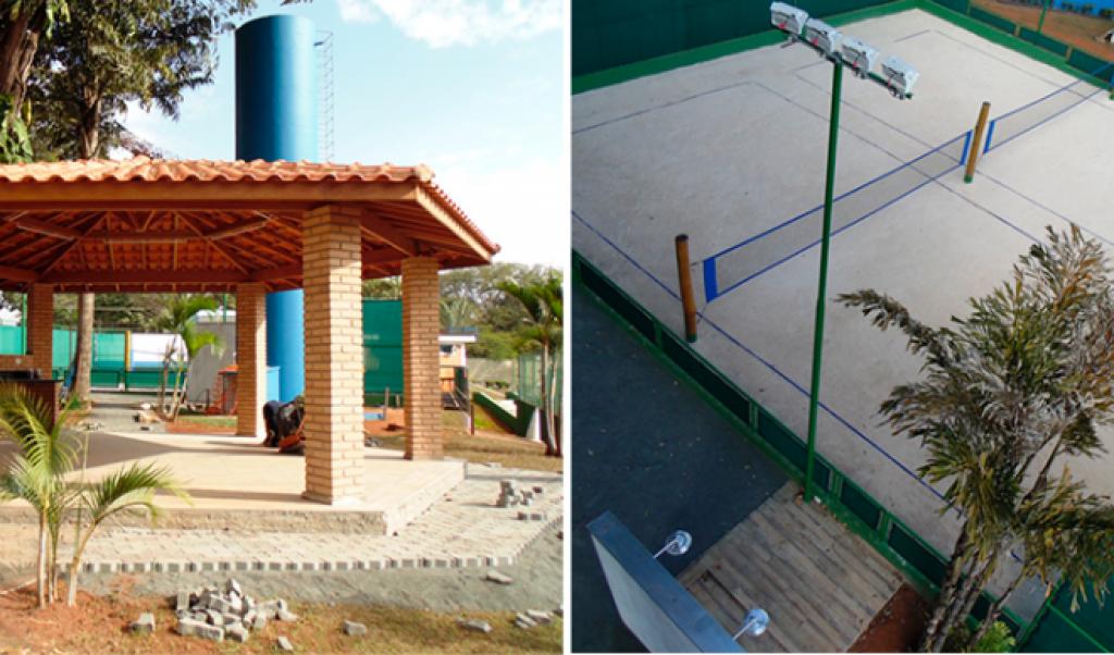 Cidades - ECB vai inaugurar quadras de Beach Tenis, quiosque e piscina coberta