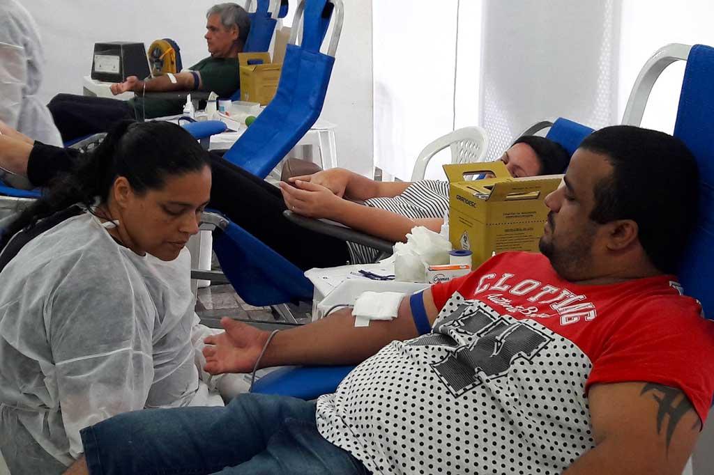 Saúde - Campanha de doação de sangue arrecada 53 bolsas