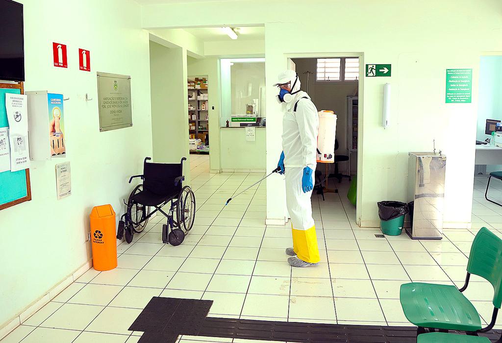 Foto Do Dia - Desinfecção