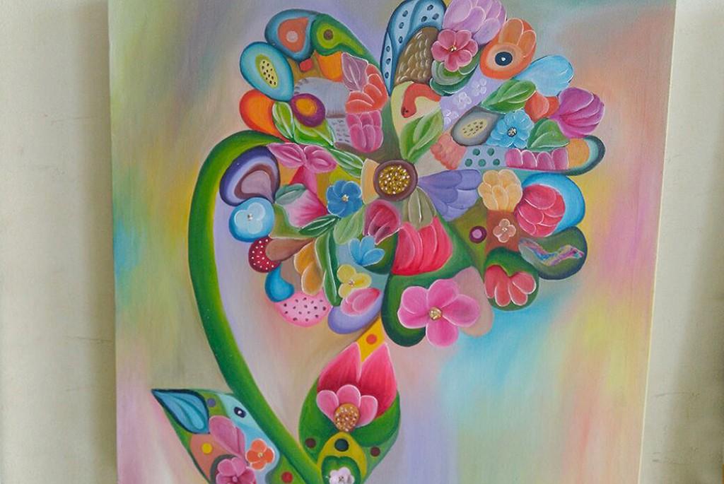 """Cultura - """"Expressões das Flores"""" é tema de mostra no Léo Sallum"""