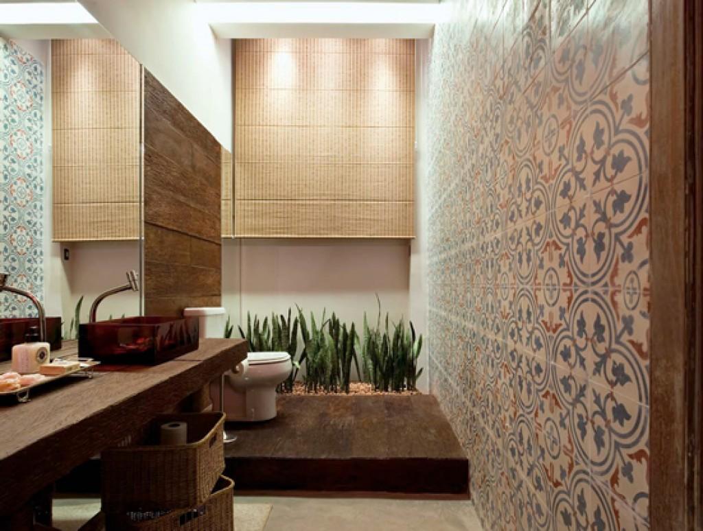 Arquitetura e Design - Madeira e plantas: uma mistura charmosa na decoração