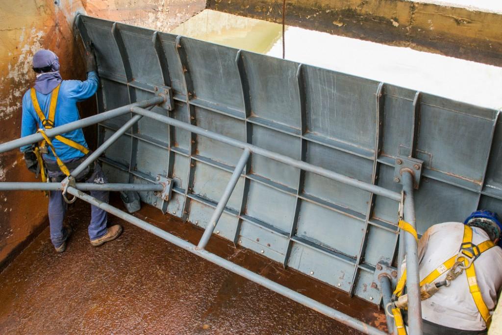Cidades - Represa São Luiz recebe manutenção preventiva