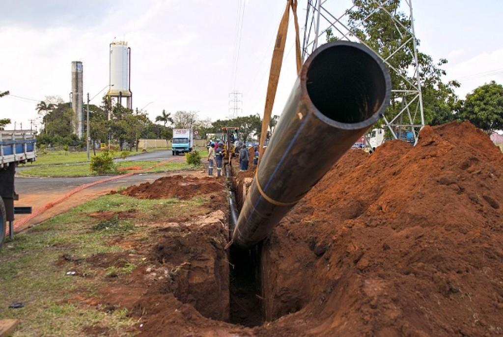 Cidades - DAE segue com obra da nova adutora de água para Zona Leste