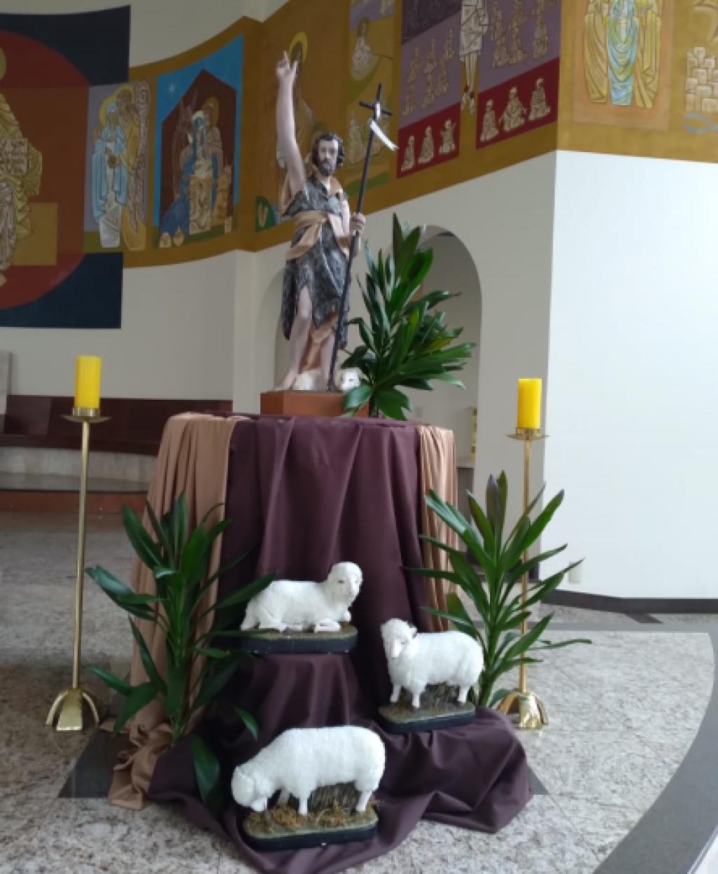 Cidades - Festa de São João Batista segue com celebrações