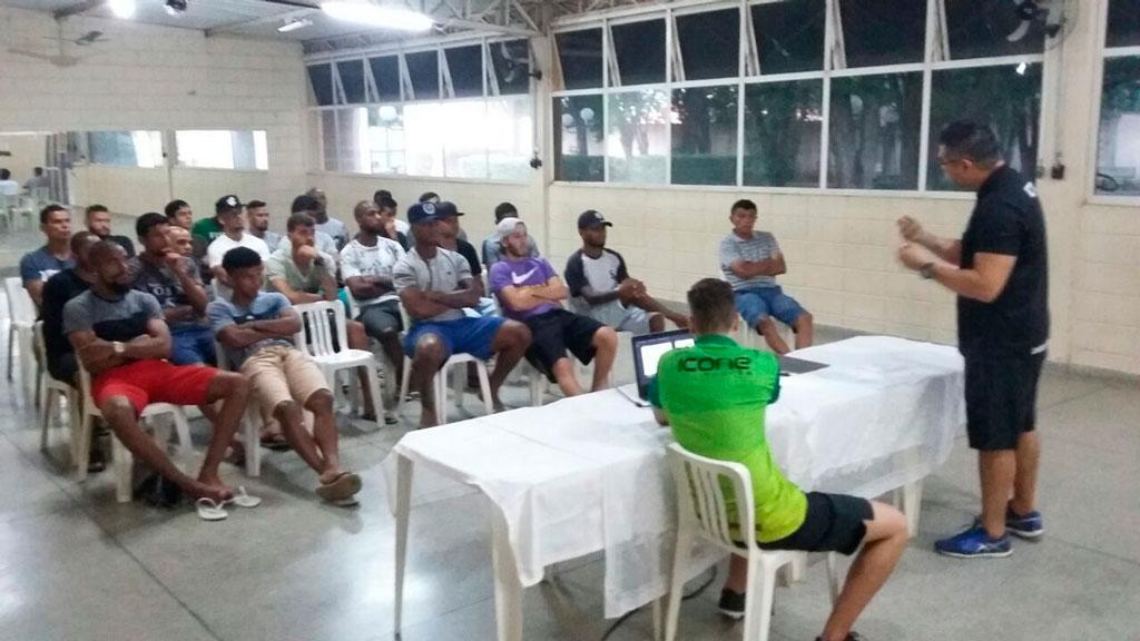 Esporte - Jogadores do União participam de palestra sobre prevenção de doping