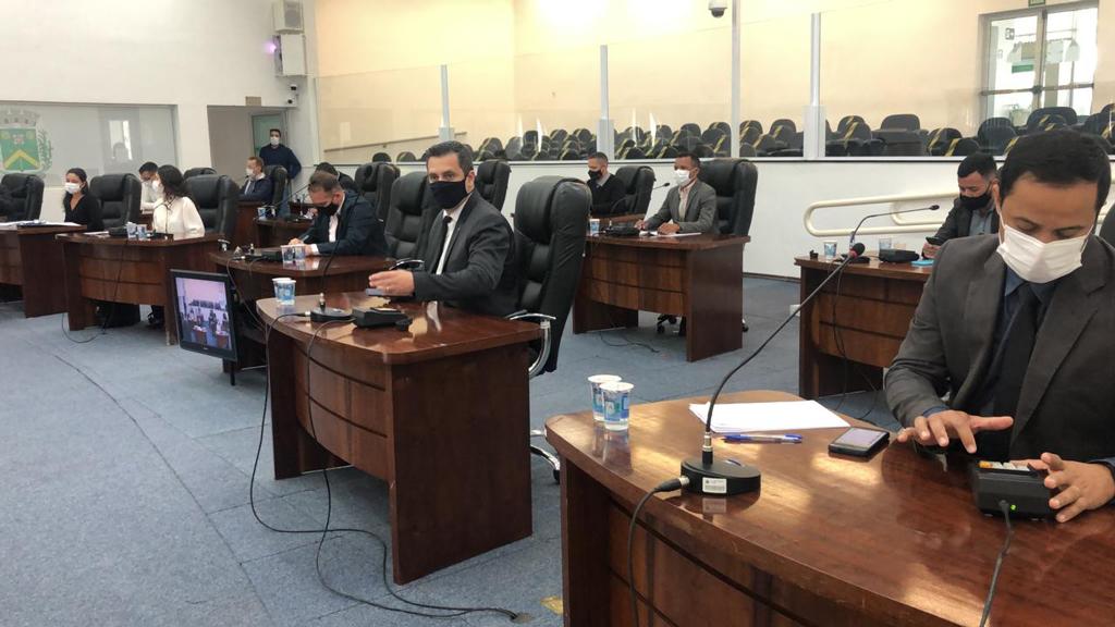 Foto Do Dia - Câmara retoma sessões presenciais: