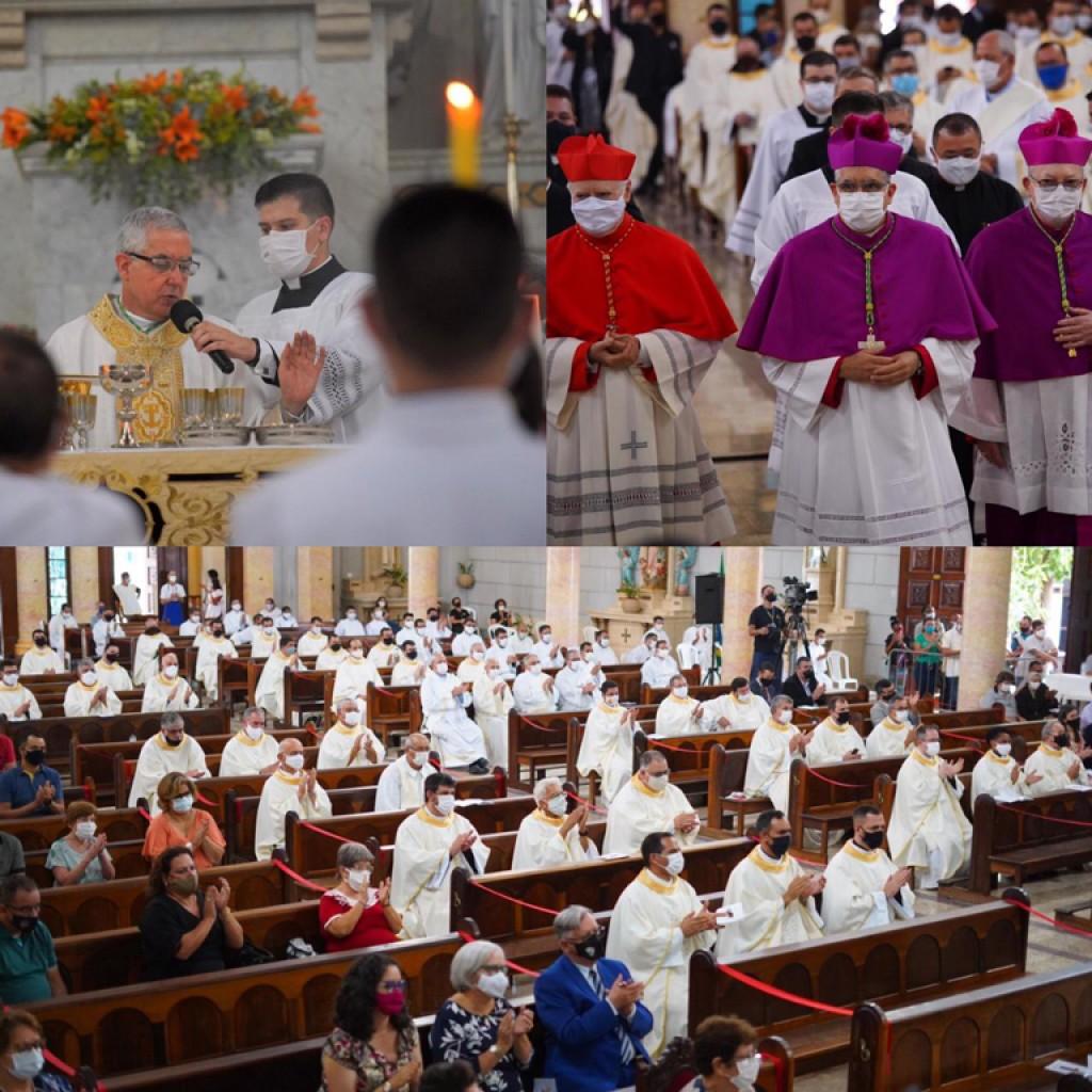 Foto Do Dia - Posse do novo bispo