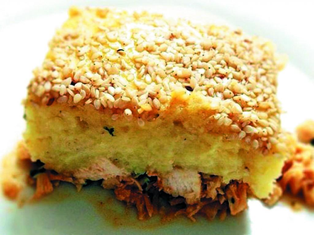 Receitas - Escondidinho de batata doce com frango