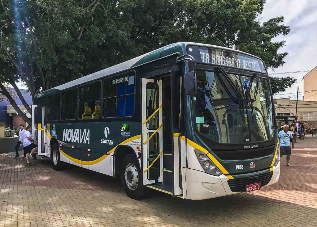Política - Ônibus irão funcionar em escala  de sábado no dia da votação