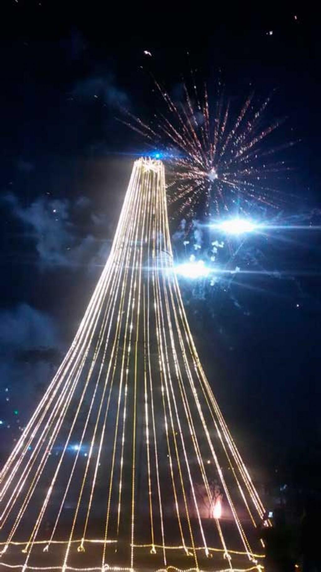 Cidades - Prefeitura inaugura decoração natalina