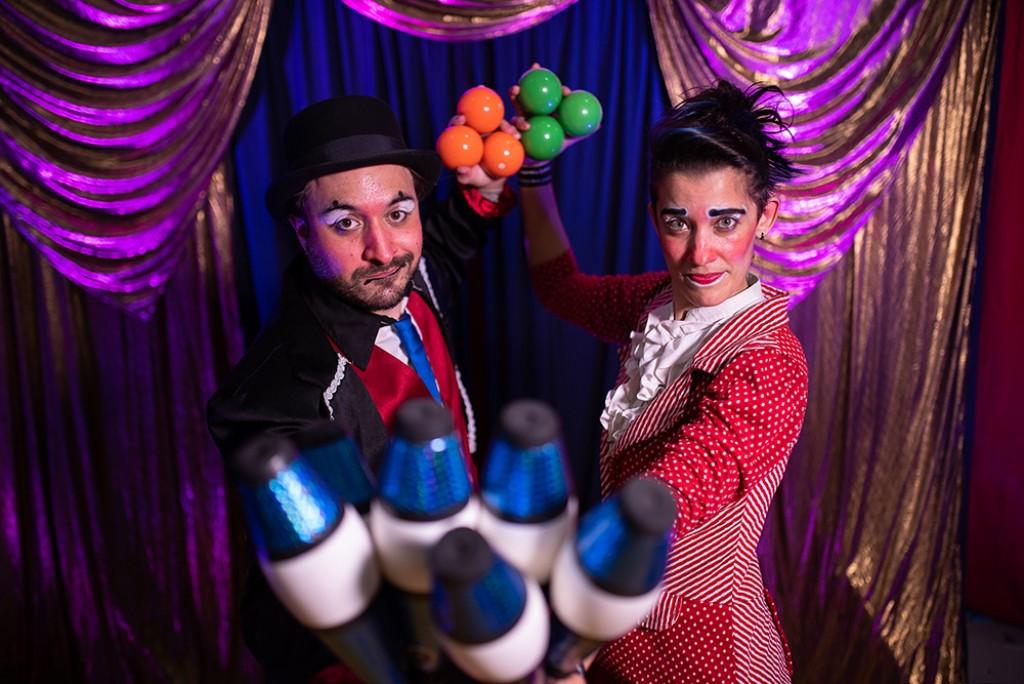 Cultura - Aldir Blanc: espetáculo MalabaRindo  traz palhaçaria em diversos espaços